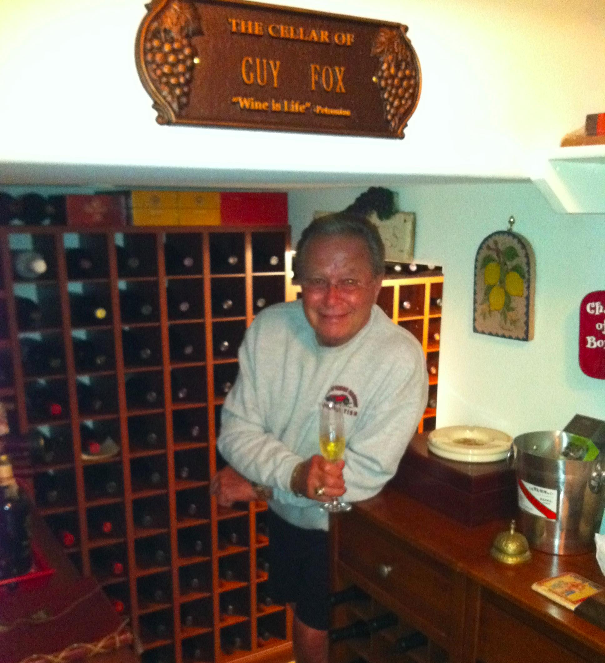 Guy Fox's Wine Cellar