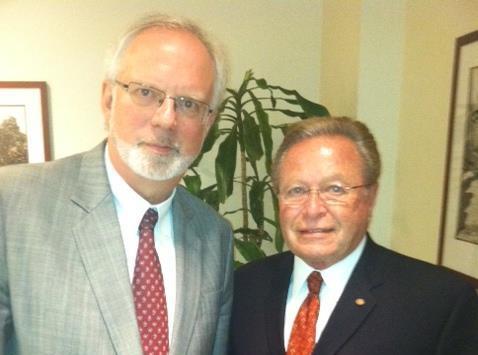 Ambassador Shear and Guy Fox