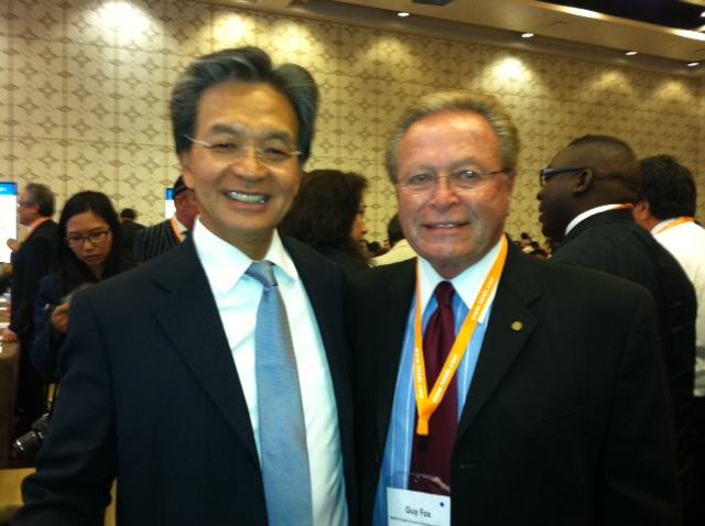 Jack So, Chairman, Hong Kong Trade Development Council & Guy Fox