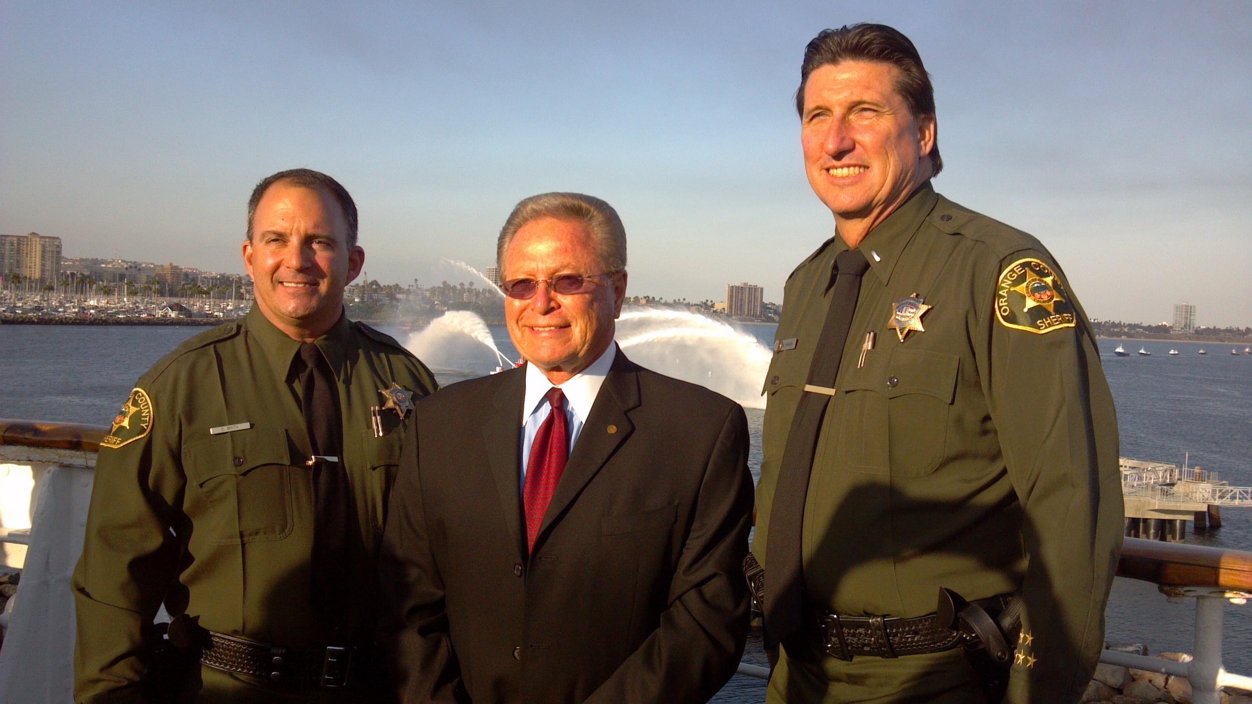 Sheriff's Deputies with Guy Fox