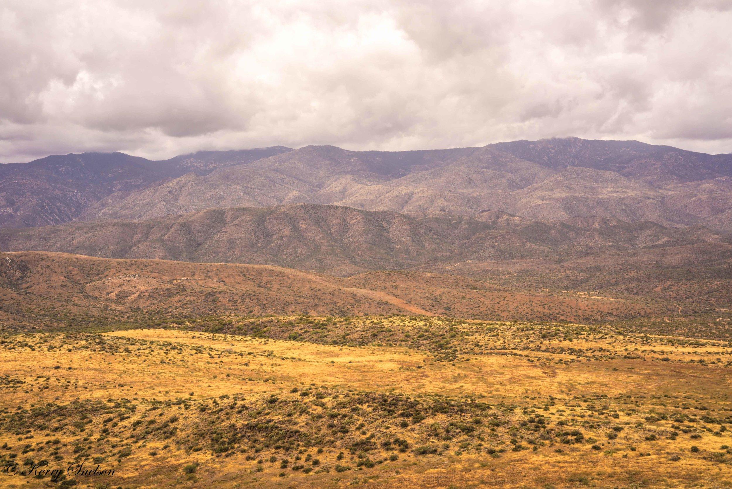 Bradshaw Mountains Landscape