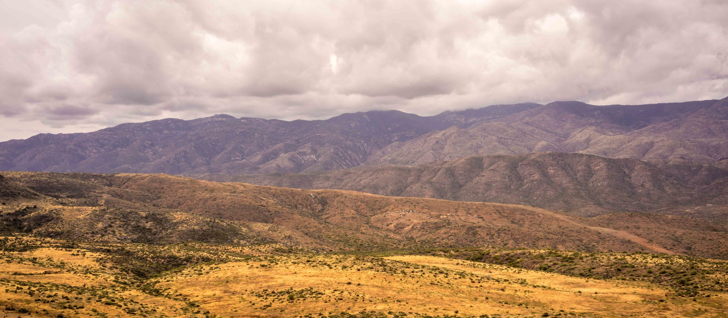 Bradshaw Mountains Panoramic Landcape