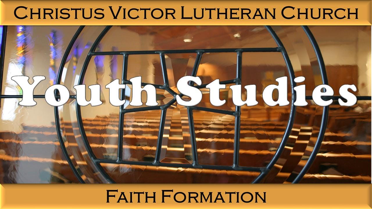 Youth Studies & Confirmation    Youth - OPEN     Confirmation - Melanie Potuznik