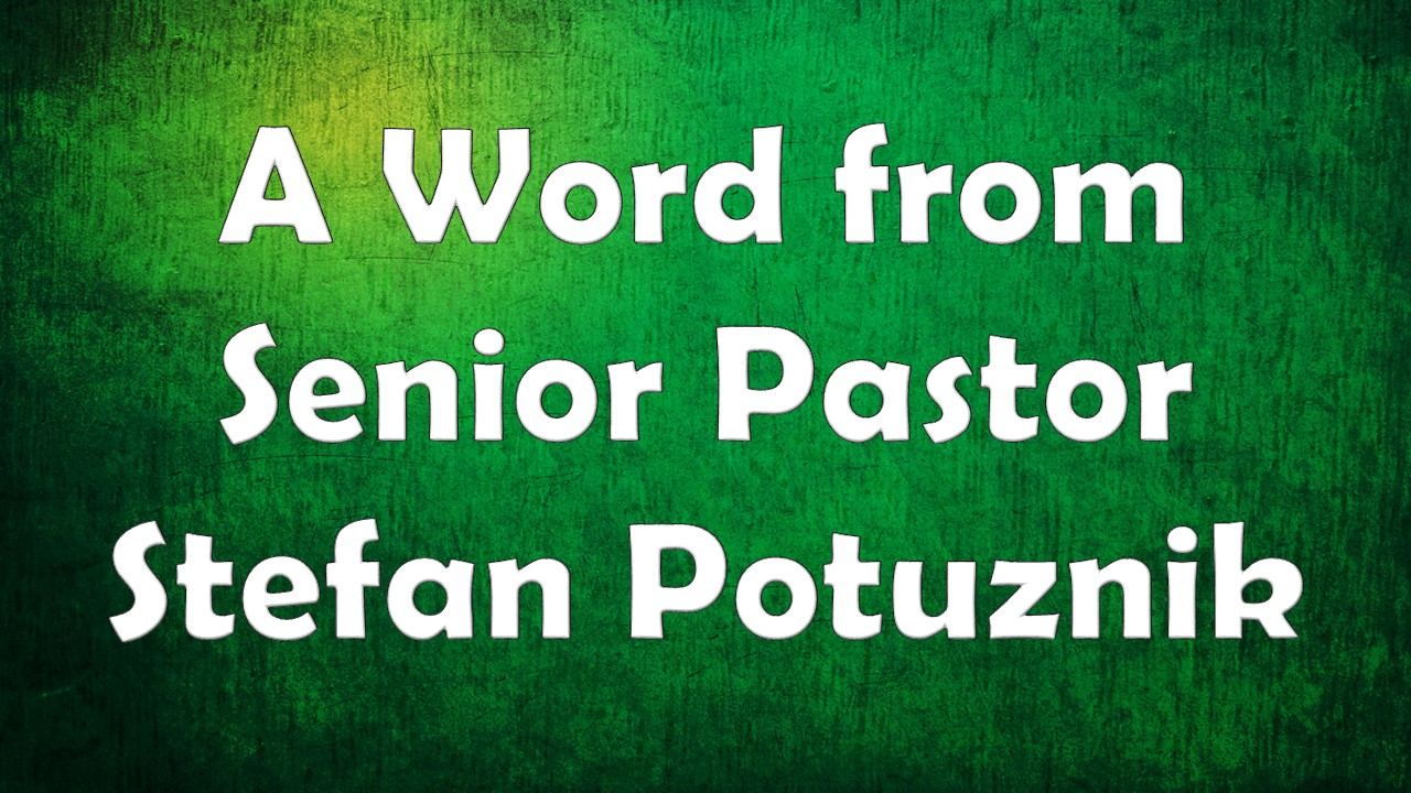 Email Pastor Stefan