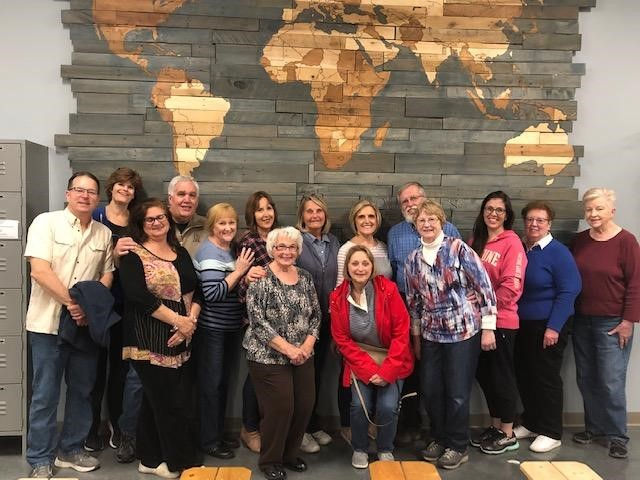 "The picture is from when our group met at ""Feed My Starving Children"" on 4/29 to do some community service together. It was a great & rewarding experience!"