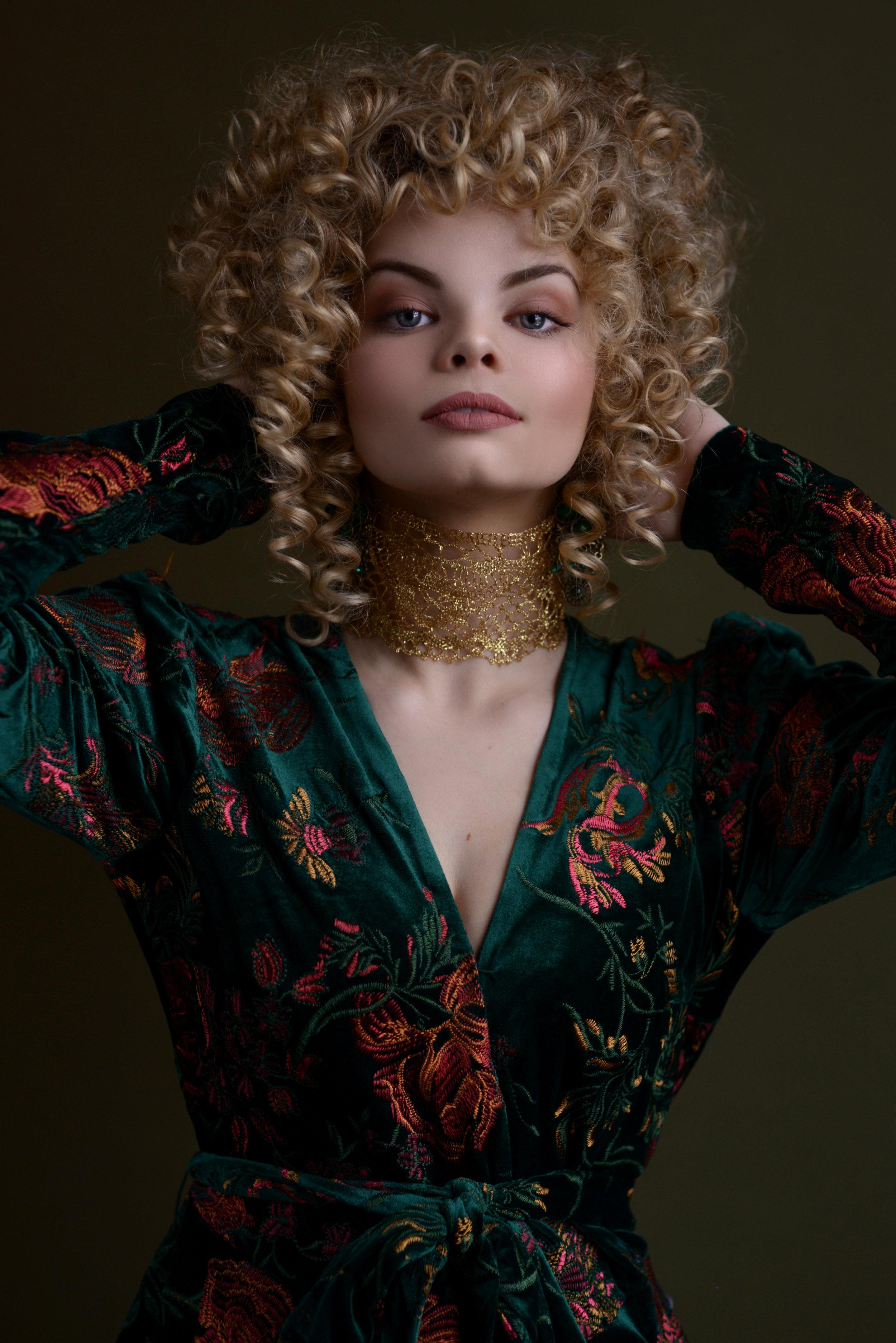 Stella Magazine Cover Photoshoot Houston Fashion Model Jadyn Diem 2
