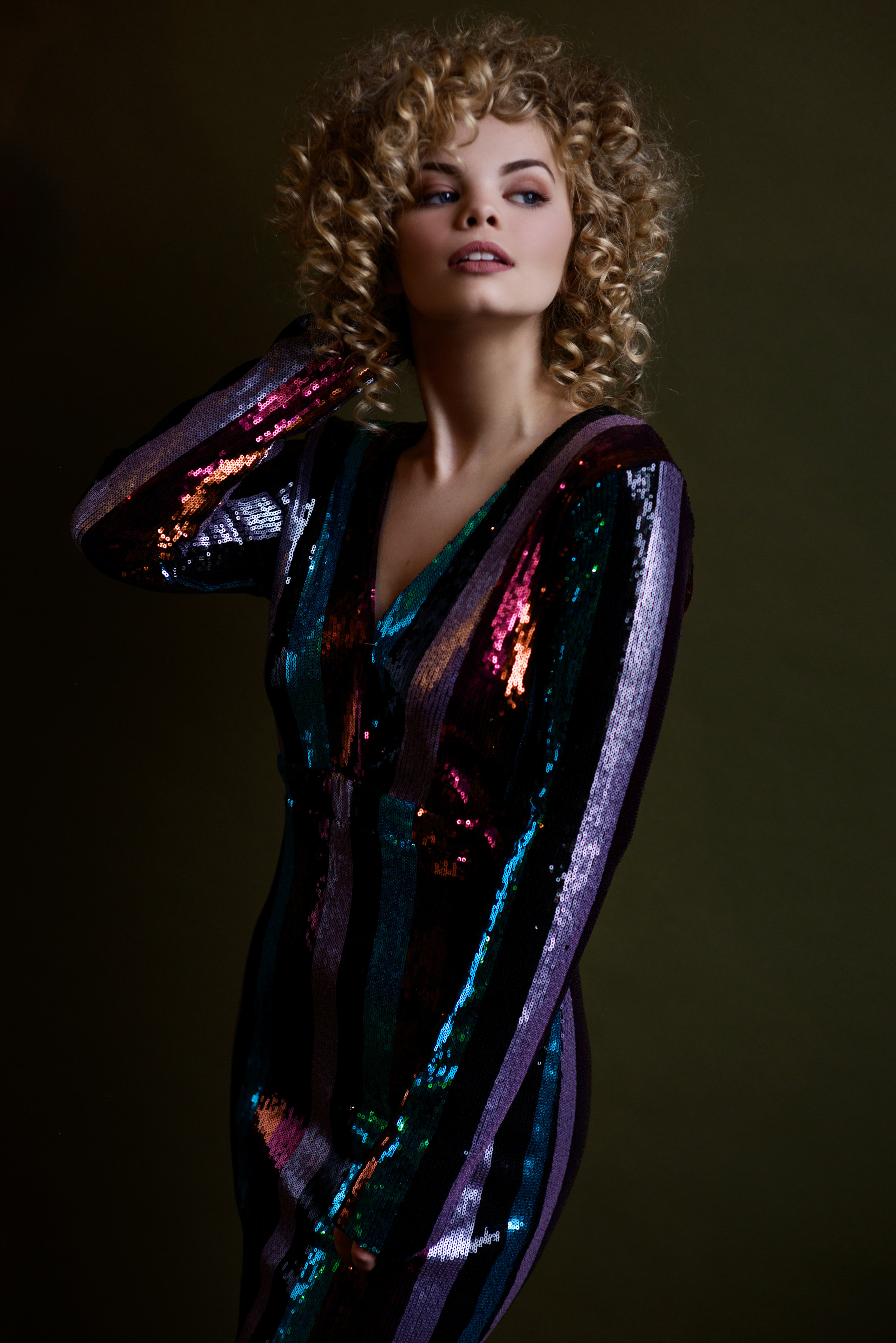 Stella Magazine Cover Photoshoot Houston Fashion Model Jadyn Diem 3
