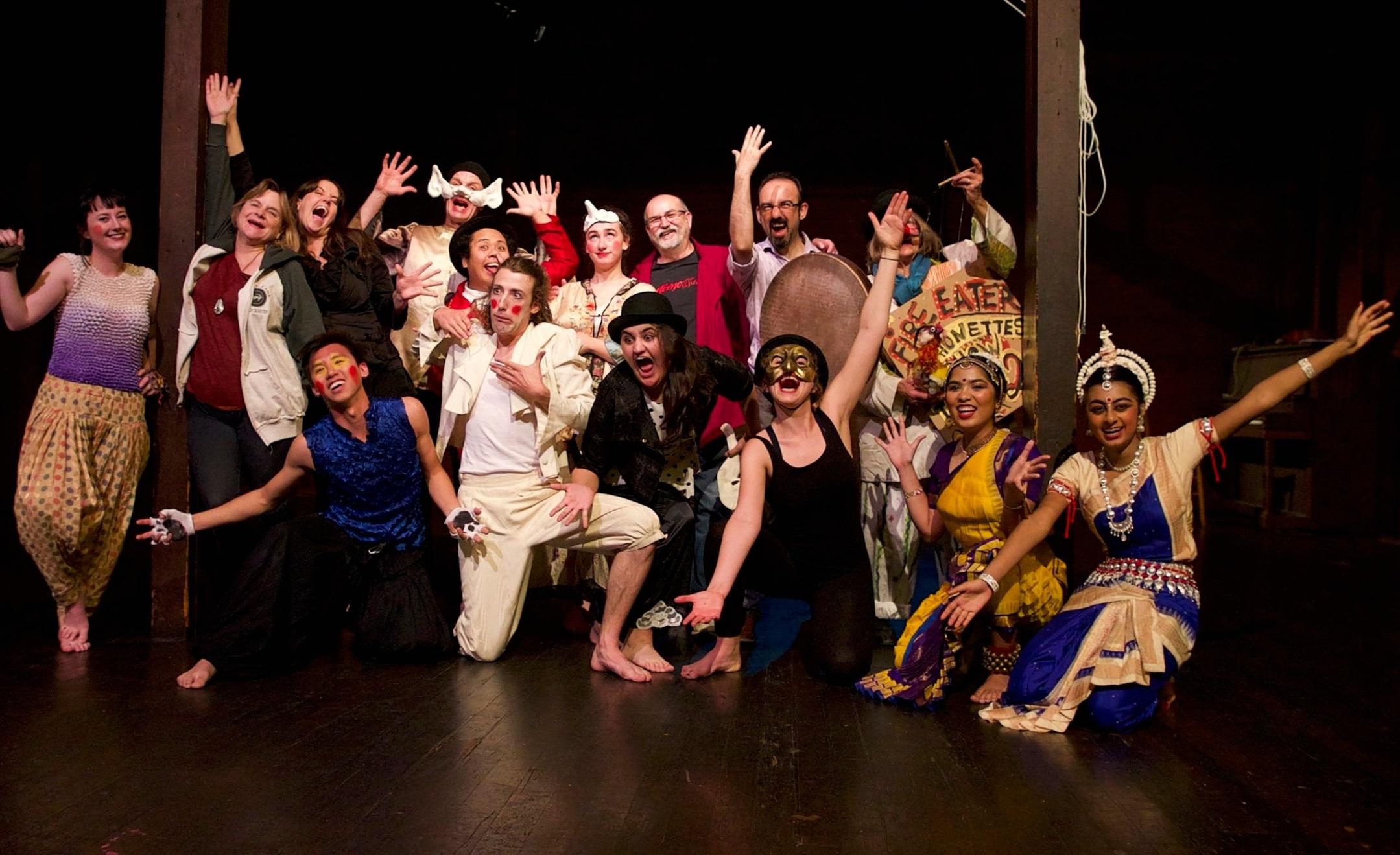 Some of the 2018 Diasporas Festival Performers