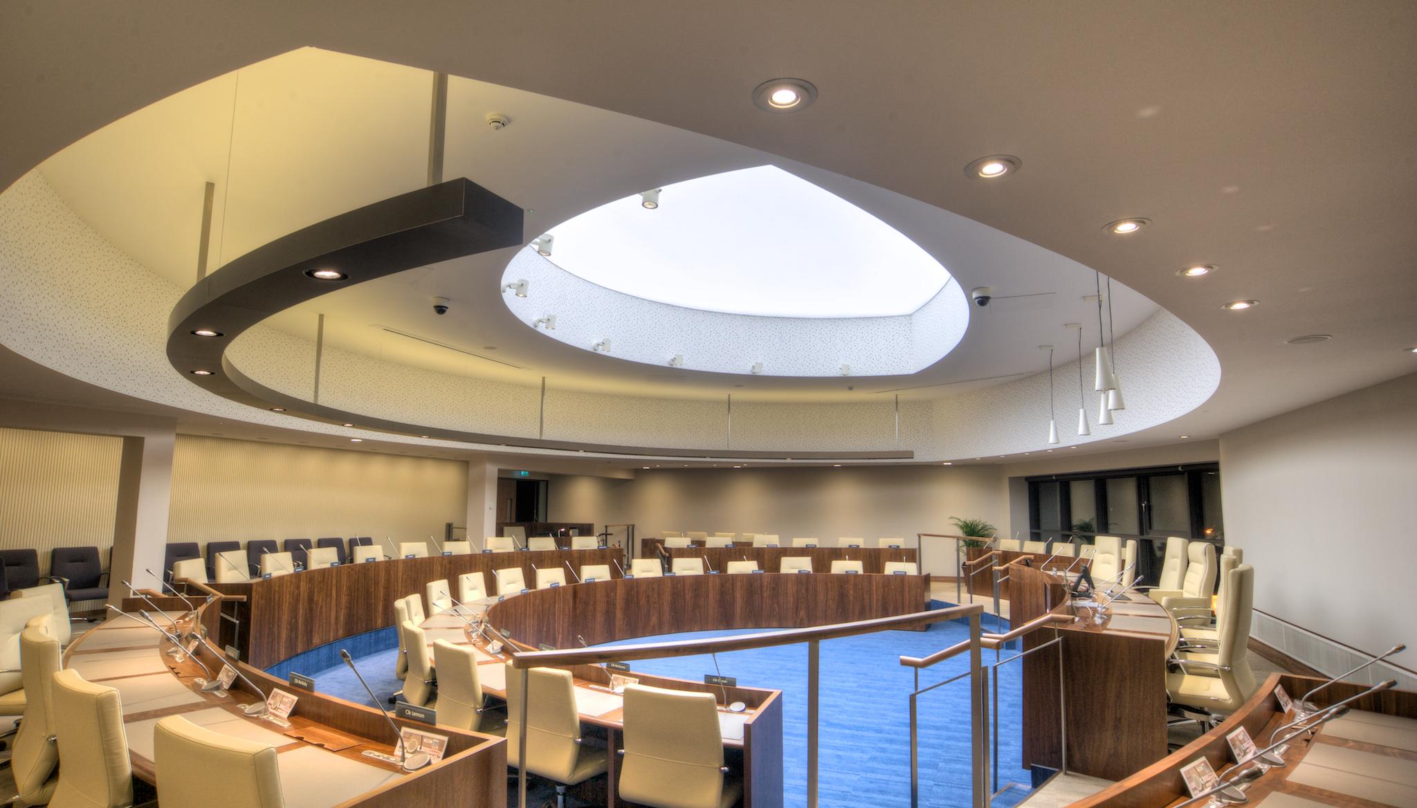 Armagh Banbridge Craigavon Council Chamber