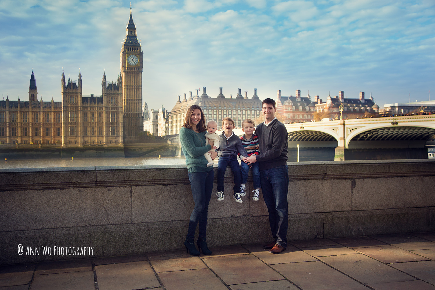 family lifestyle photography session in Central London