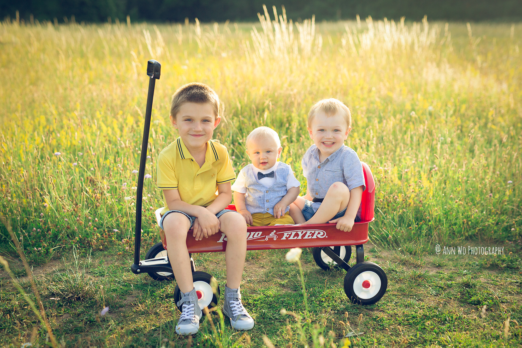 ann-wo-photographer-london-field-meadow-children-session-sunset-wagon-radio-flyer.jpg