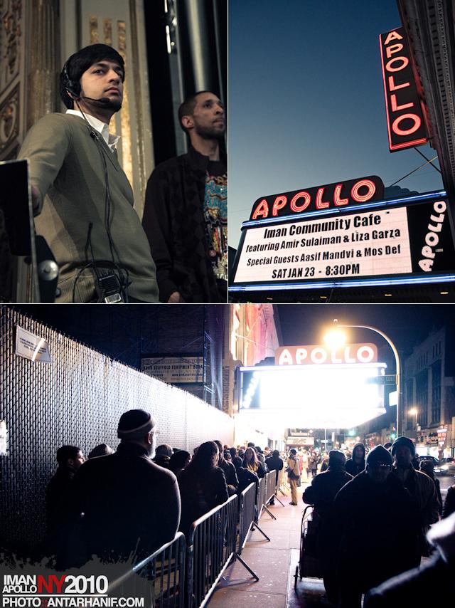 IMAN at the Apollo, New York, 2010