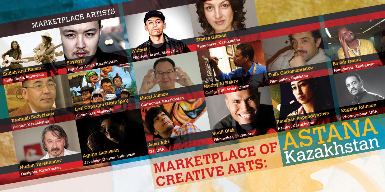 Marketplace of Creative Arts, Astana, 2011