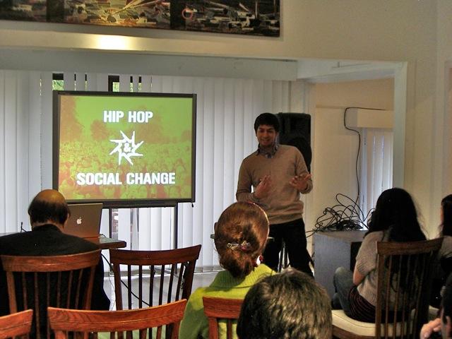 Hip Hop and Social Change Workshop, Islamabad, 2012
