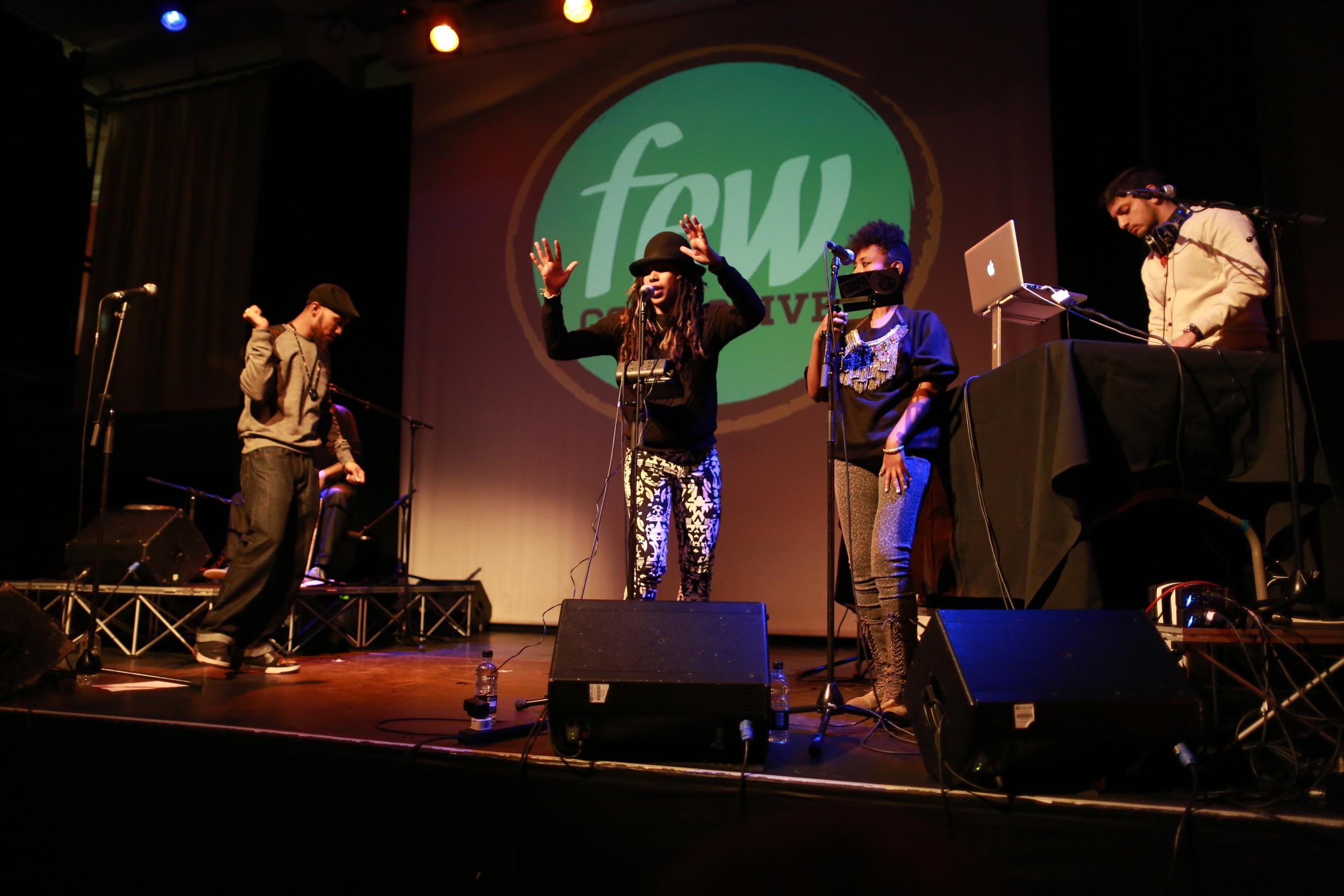 FEW Collective UK Tour, London, 2014