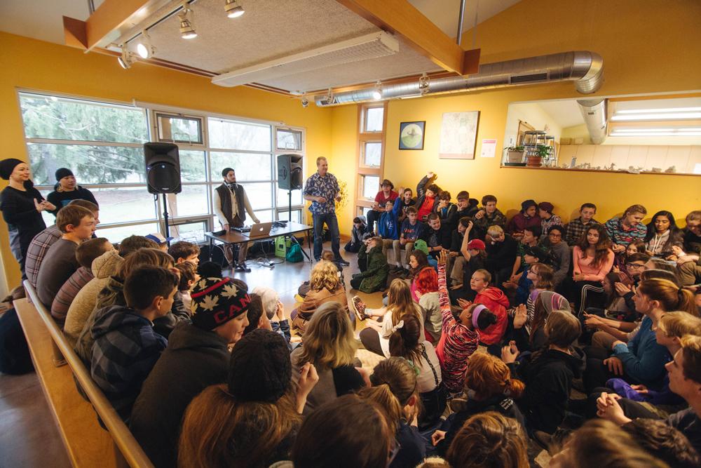 Hip Hop Workshop, Traverse City MI, 2016
