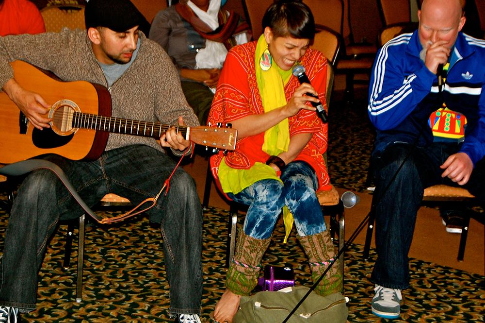 IMAN Artists Retreat, 2011