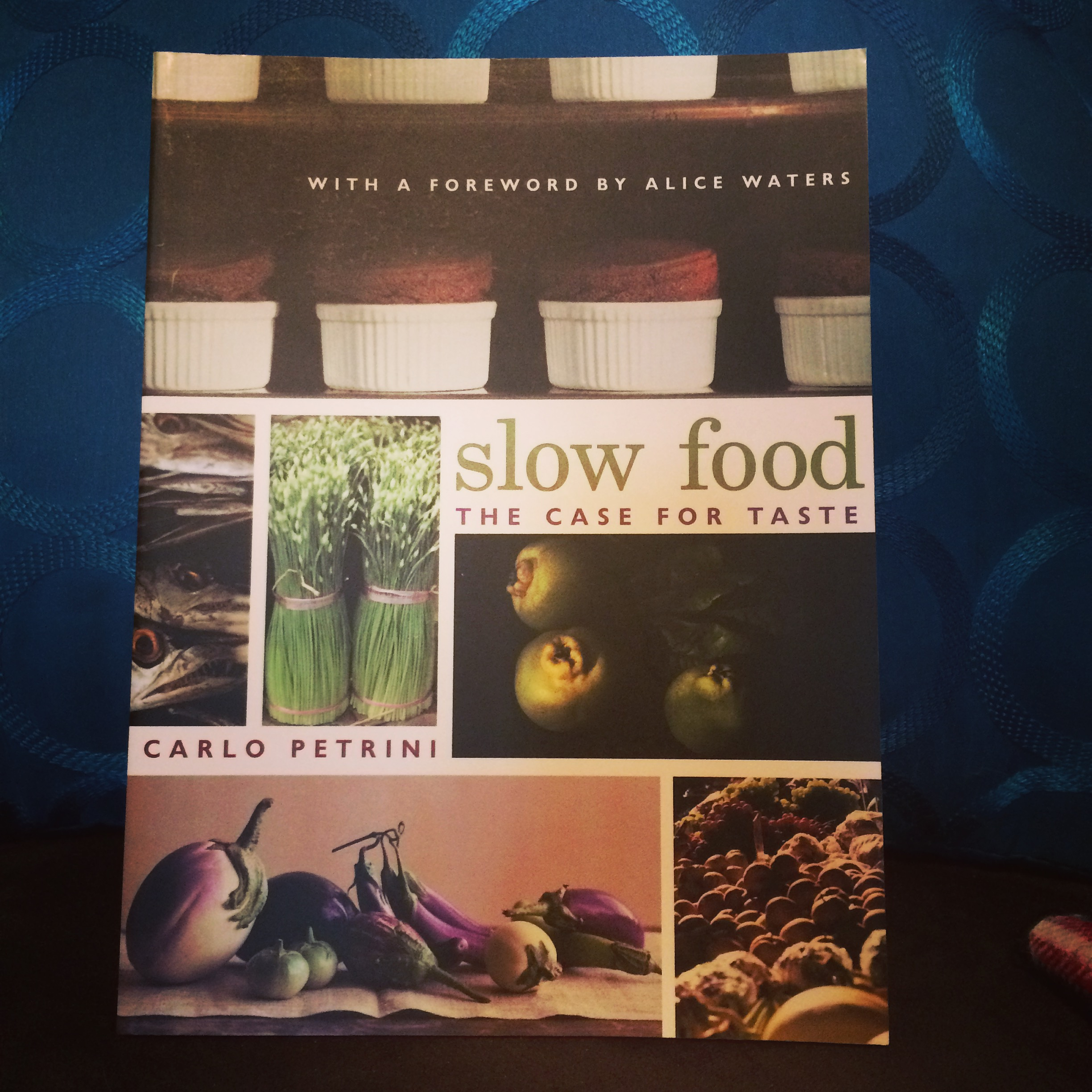 All about the Slow Food movement - really quite interesting