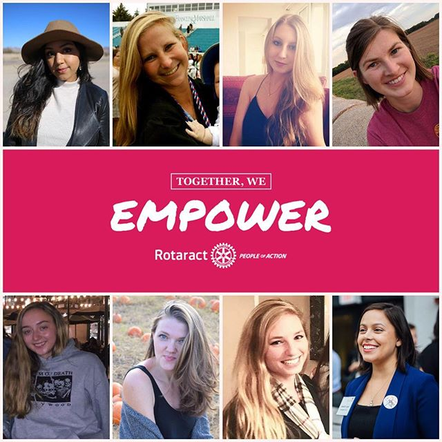 Look at all these powerful ladies! What an honor it is to have them bringing their talents and passion to our club to better our community & our world. ... Thank you @chiatiya @annajane014 @kat.isabelle @crystalosner @alexis.pawlowski @petra_nelson @kiwitrue22 @bklyn.rose for being the amazing women you are! ... Happy #internationalwomensday to all!