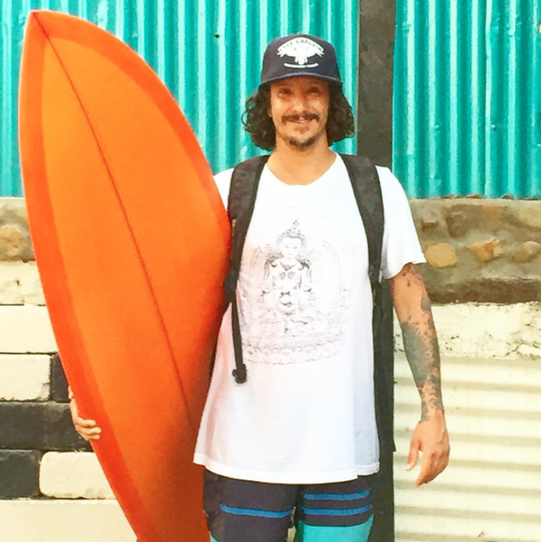 This is one happy surfed out ninja.... @kungfutonic
