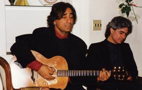 Aldoush and Koorosh Angali