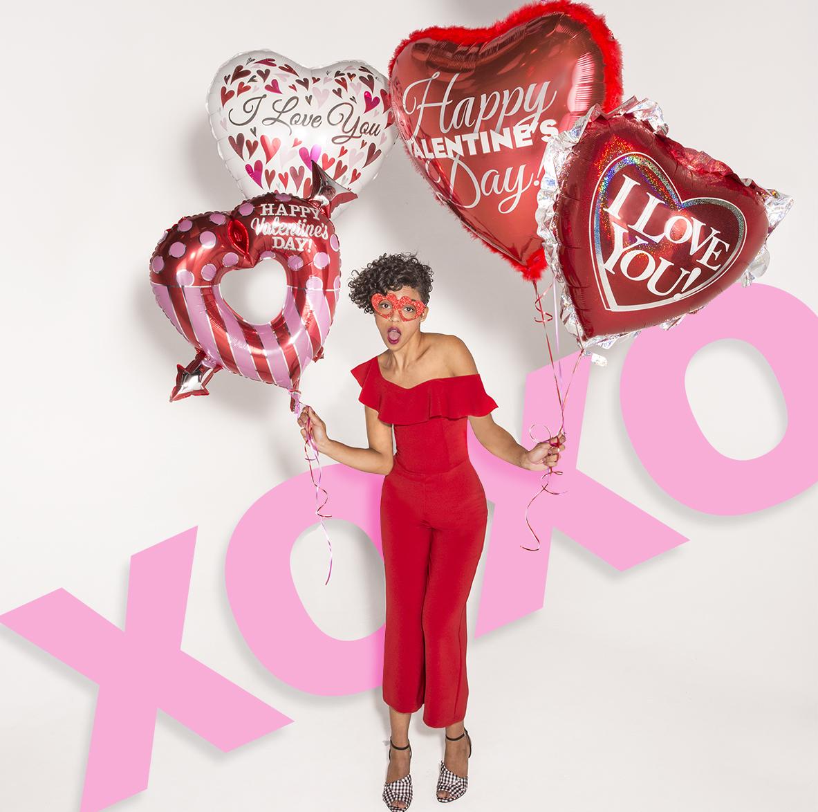 Valentines heart love model