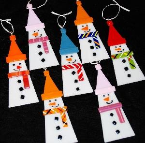 Snowmen Ornaments.JPG