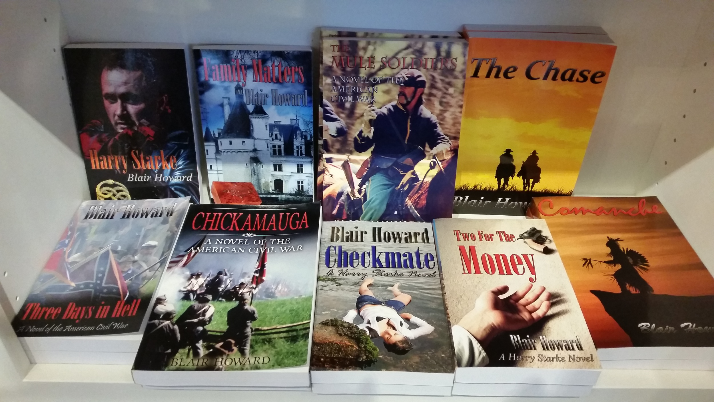 The Museum Store offers several of Howard's titles for sale.