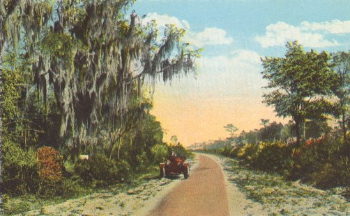 Part of the Dixie Highway in Florida