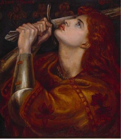 Artist's depiction of Freydis Eiriksdottir.
