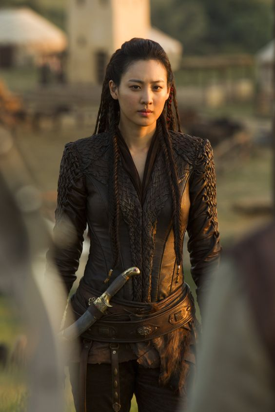Claudia Kim's portrayal of Khutulun in the series  Marco Polo .
