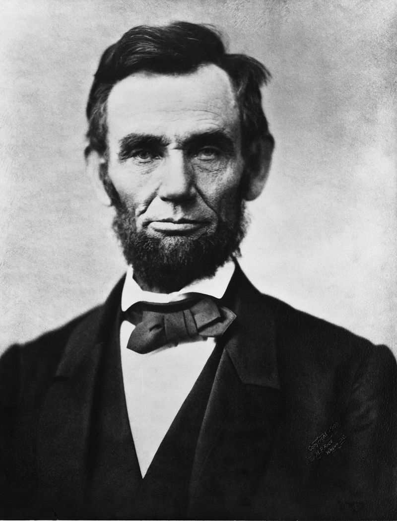Abraham Lincoln, the first Republican president.