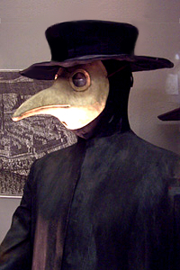 17th century German Plague Doctor outfit
