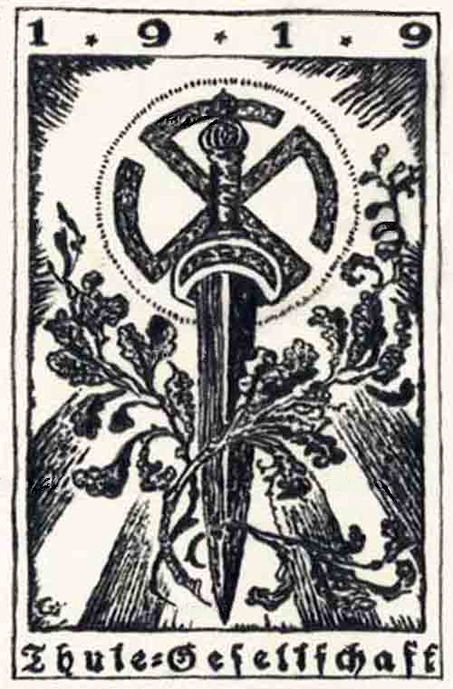 Emblem of the Thule Society.