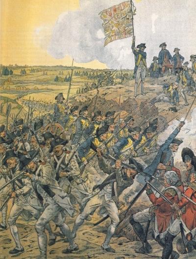 Siege of Yorktown.