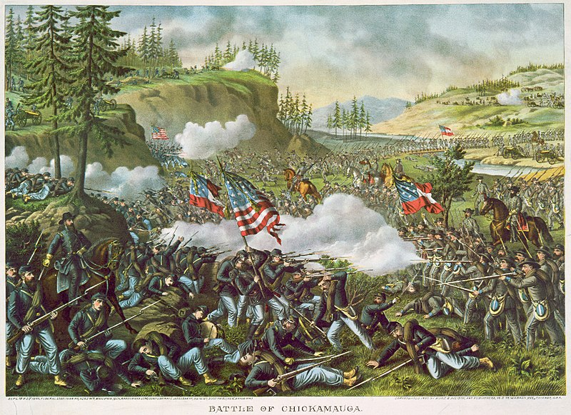 Battle of Chickamauga.