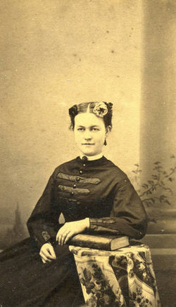 Myra Inman, who kept a diary during the Civil War.