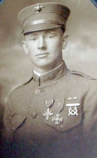 Clarence Richmond, local war hero from Bradley County who wrote a diary describing his experiences during WWI.