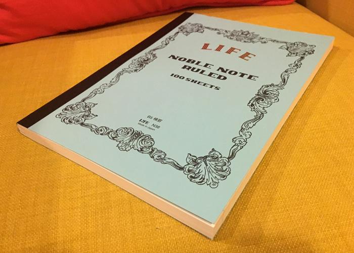 Life Stationery Noble Note, ruled