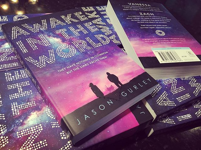 Another one of those lovely mail days: UK editions of Awake in the World from @usborneya!