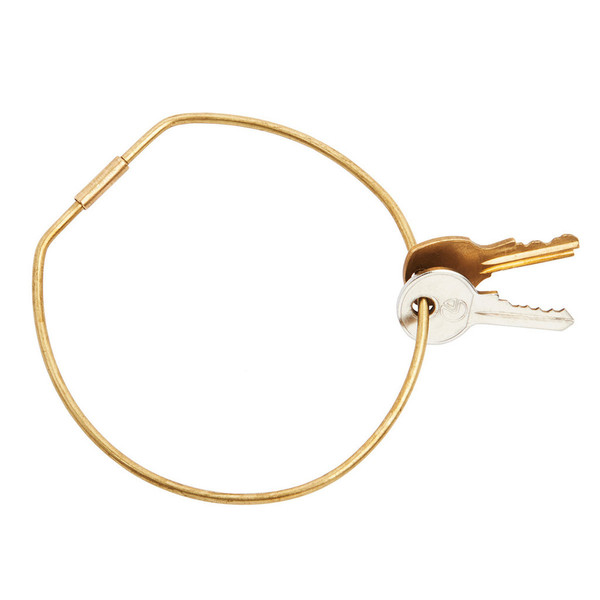 Areaware Contour Key Ring, $18. (Other shapes available.)