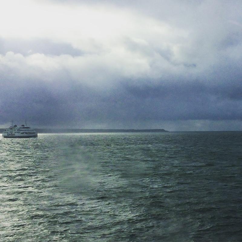 Ferry crossing from Sweden to Denmark.