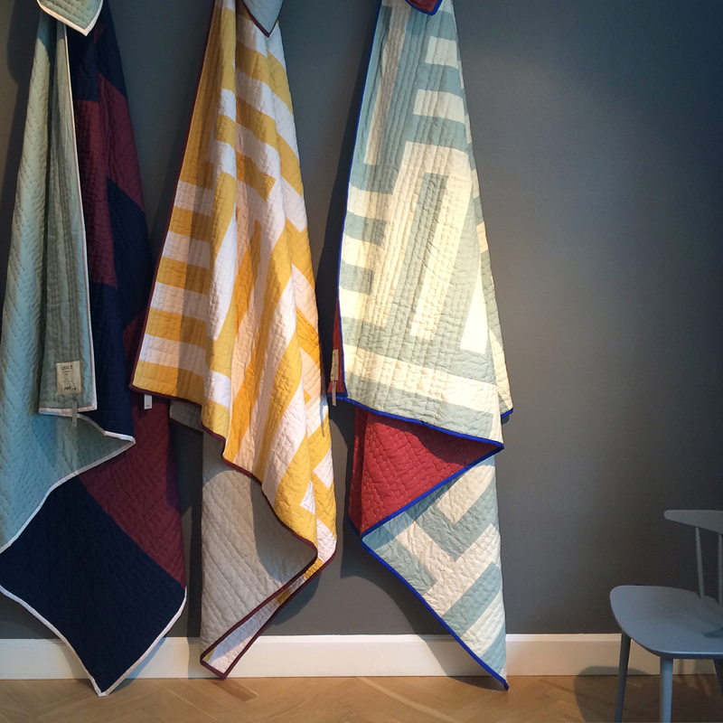 Quilts at  Hay House .
