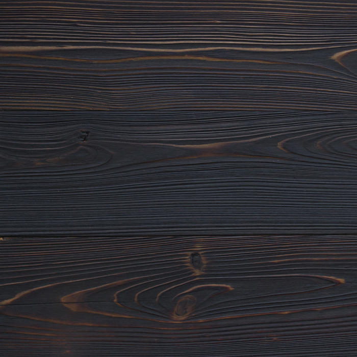 Shou sugi ban wood exterior for the cladding.