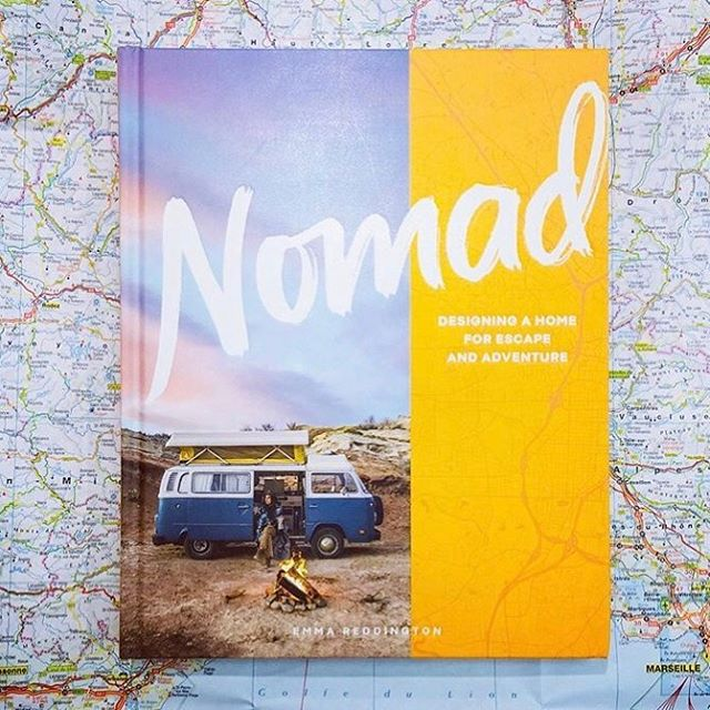 "It's here! (Almost). My book ""Nomad:Designing a Home for Escape and Adventure"" is being released on Oct. 15th by @artisan_books. Photographer @siancrichards and I travelled to 6 countries, 11 US states and 2 Canadian provinces and met with so many wonderful people who have found a way to pursue a life that matters most to them. I hope you will pick it up and be inspired by their journeys. Visit the link in my bio for PRE-ORDERS. 📷 by @paperplus_eastridge in New Zealand who apparently already have the book!"
