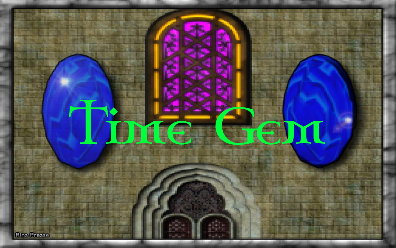 Time Gem Title Screen