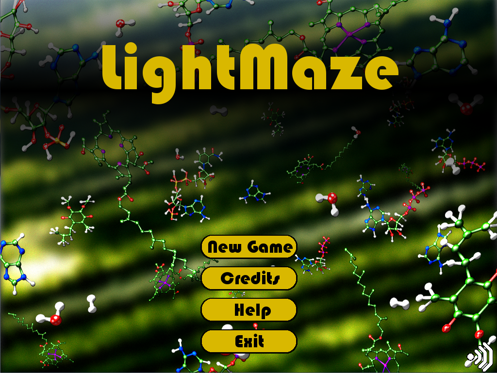 Light Maze Title Screen