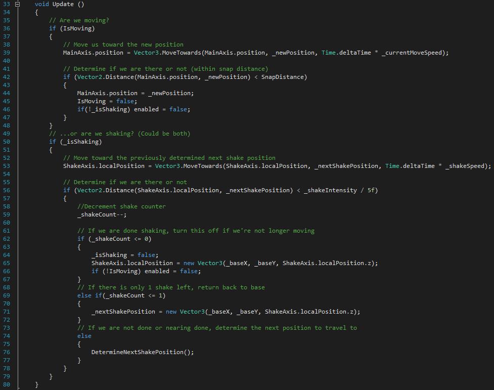 Unity: Advanced 2D Screen Shake Script [Synersteel]