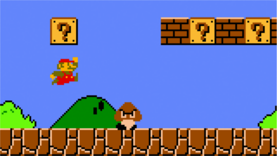 Super Mario Brothers.  Simple.  Elegant.  Timeless.