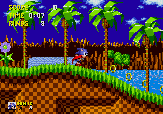 Sonic the Hedgehog.  Streamlined. Efficient.  Perfect.